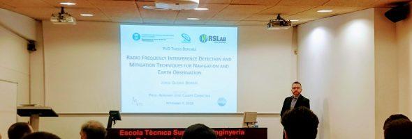 Ph.D. Thesis Presentation, Jorge Querol